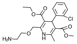 Amlodipine (Norvasc) Structure Image