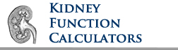 Pharmacology Weekly's - Renal Functional Medical Calculator Med Cal CrCl GFR